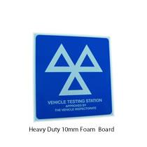 10mm Foam MOT Sign