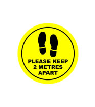 Please Keep 2 Metres Apart
