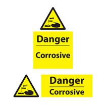Danger Corrosive Signs
