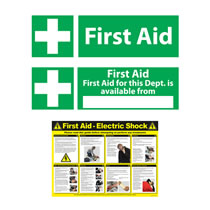 First Aid Signage & Posters