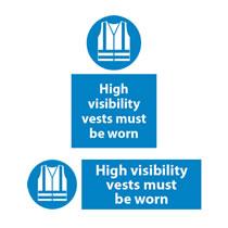 Hi Visability Vests Must Be Worn
