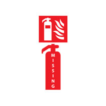 Missing or Defective Fire Equipment Sign