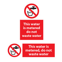 This Water is Metered Sign