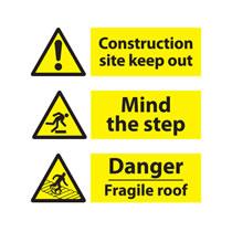 On Site Hazard Warning Signs