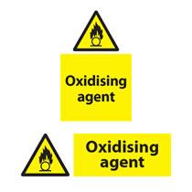 Oxidising Agent Sign