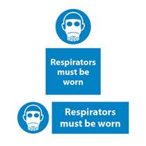 Respirators Must Be Worn