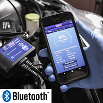 Bluetooth Battery Testers
