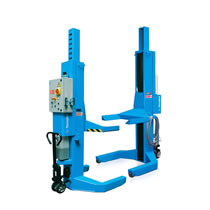 Electro Hydraulic Mobile Column Lifts