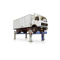 4 Post Lifts for HGV Commercial Vehicles