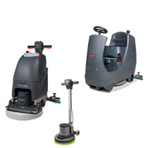 Floor Scrubbers & Cleaners