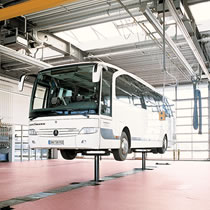 In Ground Commercial Vehicle Lifts