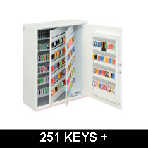 Key Safes for over 250 Keys