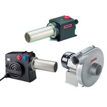 Leister Process Heaters & Blowers