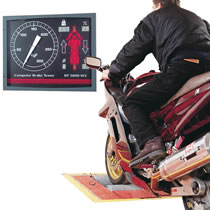 DVSA Compliant MOT Equipment for Motorcycles