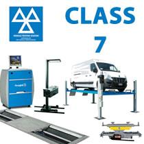 DVSA Compliant Van & Minibus Class 7 MOT Equipment
