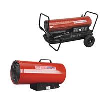 Paraffin & Diesel Space Heaters
