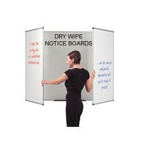 Notice & Dry Wipe Boards
