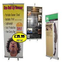 Single Sided Pull Up Banners