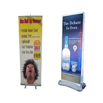 Pull Up & Roll Up Banners