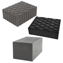 Rubber Blocks for Scissor Lifts & Jacking Beams