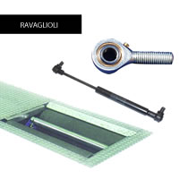 Replacement Mechanical Spare Parts for Ravaglioli Roller Brake Testers
