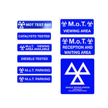 MOT Signage Packs