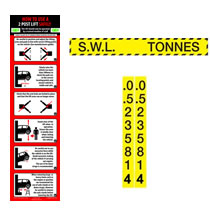 Safety Stickers and SWL Labels
