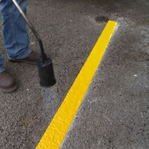 Thermoplastic Line Marking Rolls