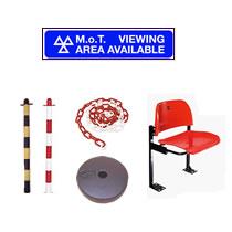 MOT Viewing Area Equipment