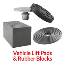 Vehicle Lift Pads & Rubber Blocks