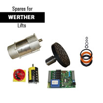 Werther Vehicle Lift Spare Parts